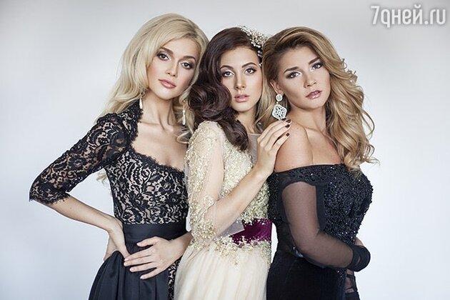 Эрика Герцег, Анастасия Кожевникова и Миша Романова