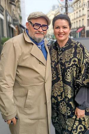 Александр Васильев и Анна Нетребко. Фото