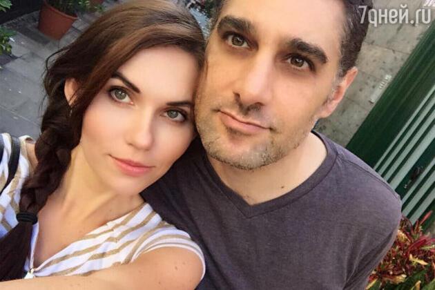 Алиса Аришина с мужем