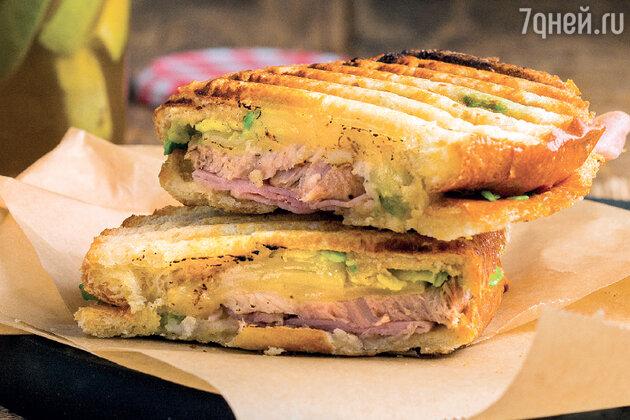 Кубинский сэндвич: рецепт потрясающего бутерброда с жареной свининой. фото