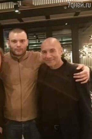 Игорь Николаев, Игорь Крутой и его внебрачный сын Яков - фото