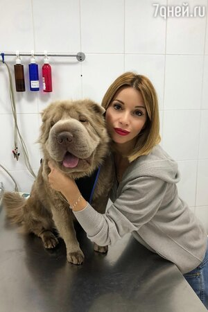 Ольга Орлова с Бруно
