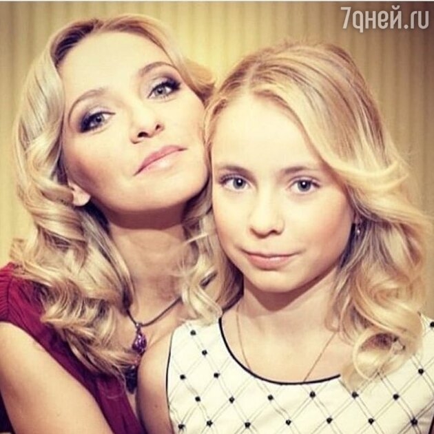 Татьяна Навка с дочкой Александрой