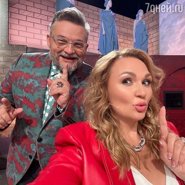 Александр Васильев и Надежда Ангарская