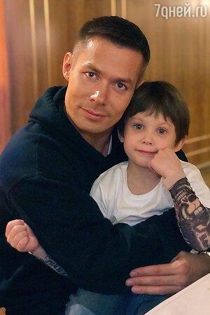 Стас Пьеха с сыном — фото