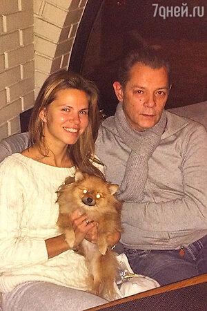Вадим Казаченко с женой Ольгой