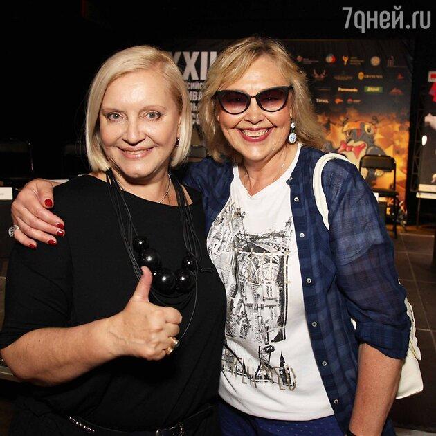 Наталья Хорохорина и генпродюсер фестиваля Лариса Преториус