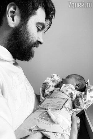 Александр Сёмин с дочкой