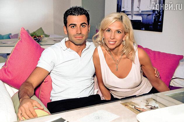 Алена Свиридова с Давидом Варданяном