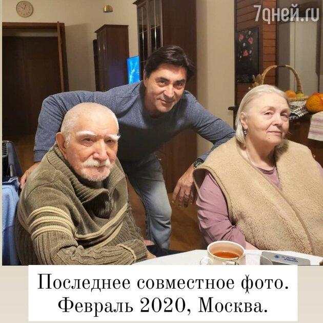 Армен Джигарханян с пасынком Степаном — фото