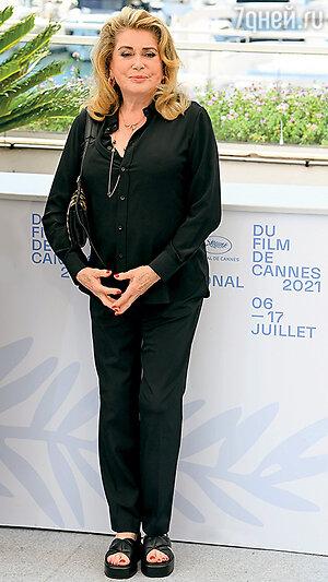 Катрин Денев. Фото