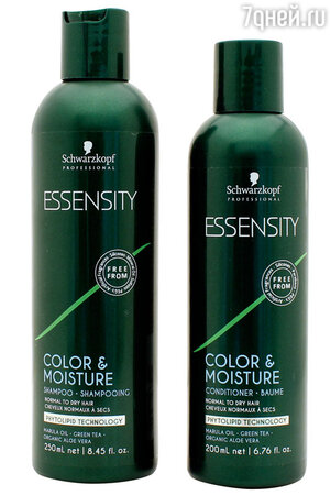 Серия Essensity Color & Moisture от Schwarzkopf Professional