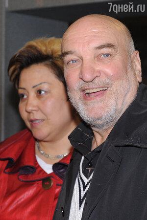 Алексей Петренко с Азимой Абдумаминовой