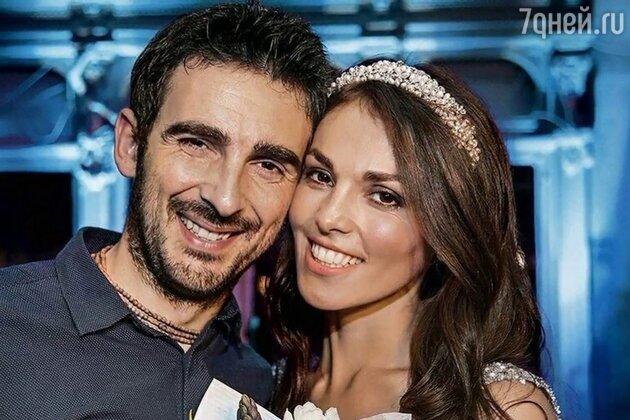 Сати Казанова с мужем Стефано Тиоццо