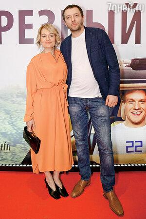Виктория Толстоганова с мужем Алексеем Аграновичем