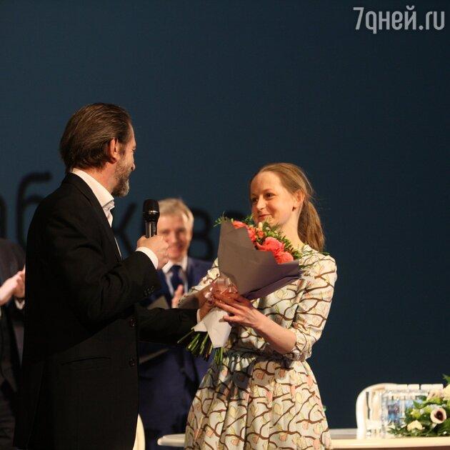 Владимир Машков и Яна Сексте