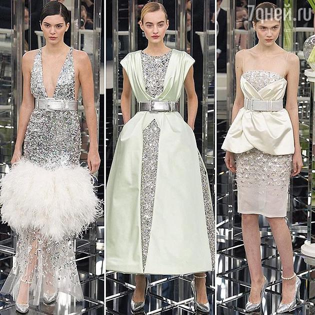 Показ Chanel Couture
