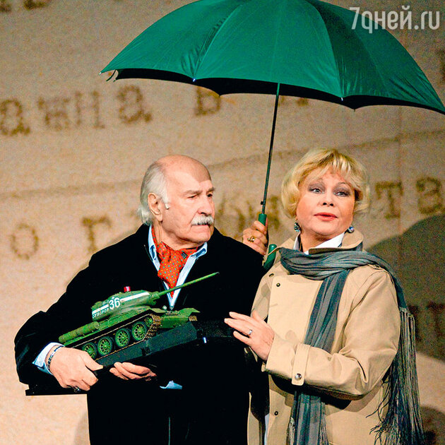 Владимир Зельдин и Ольга Богданова