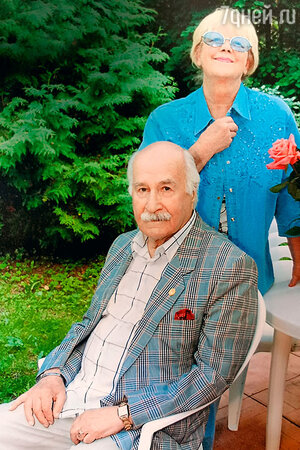 Владимир Зельдин с Иветтой Капраловой