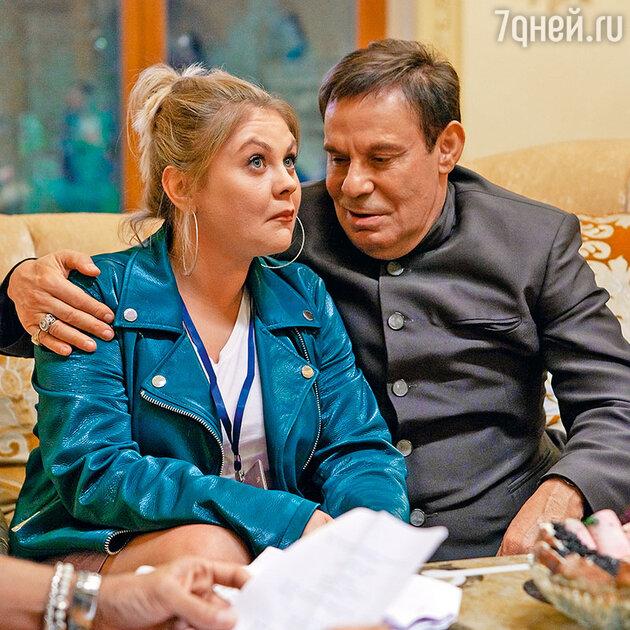 Ефим Шифрин с Валентиной Мазуниной