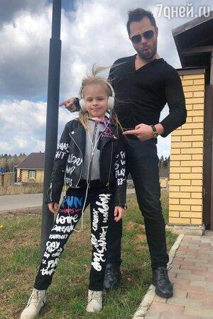 Виталий Гогунский с дочкой Миланой