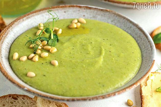 Крем-суп из картофеля и зеленого горошка: рецепт от фудблогера Елены Фенцик. фото