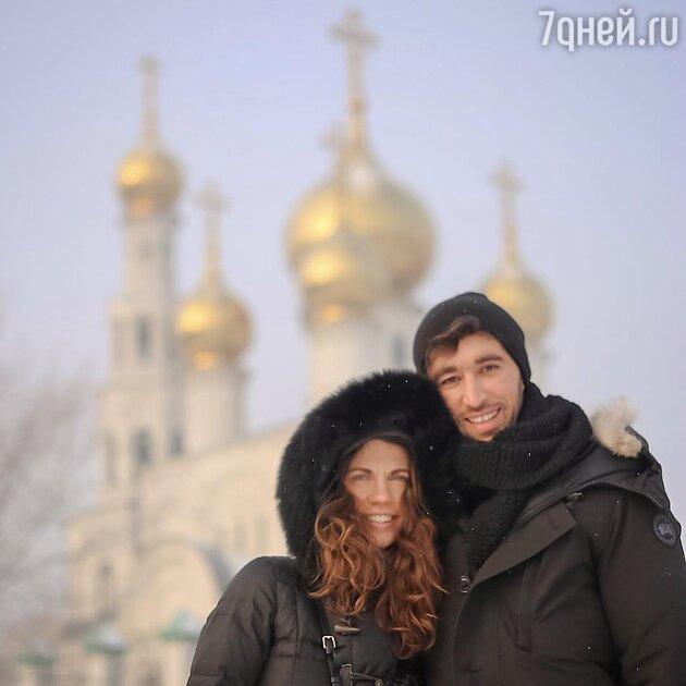 Мария Хворостовская с мужем