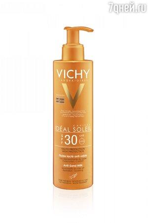 Увлажняющее молочко-антипесок Ideal Soleil, SPF 30, Vichy
