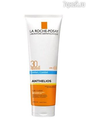 Солнцезащитное молочко для тела Anthelios, SPF 30, La Roche-Posay