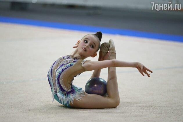 Аня Репина на соревнованиях