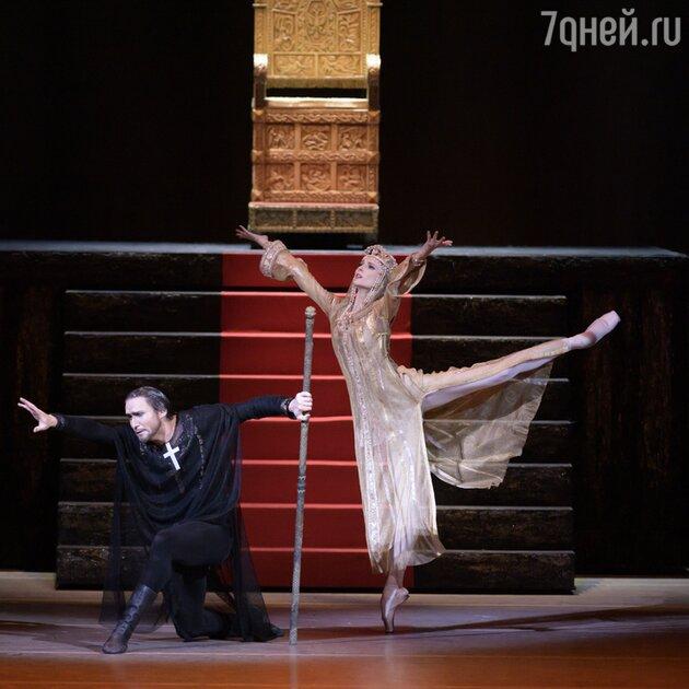 """Светлана Захарова в балете """"Иван Грозный"""""""
