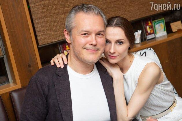 Светлана Захарова с мужем Вадимом Репиным