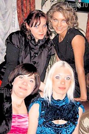 Кристина Асмус с сестрами