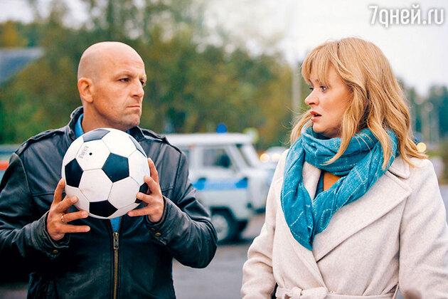 Анна Михалкова с Федором Лавровым