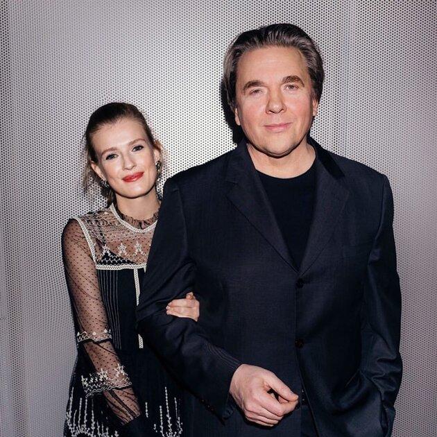 Константин Эрнст с женой Софьей